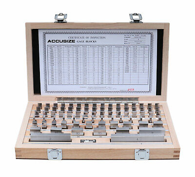81 Pcs Steel Gage Block Set, Grade B, #P900-S581