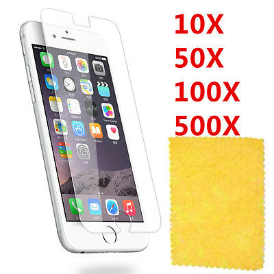 Clear Screen Protector For iPhone6 4.7 iPhone4 4S  5 5S WHOLESALE/BULK/JOBLOT