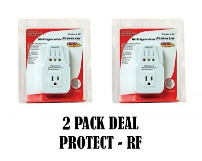 NEW AC Voltage Protector Brownout Surge Refrigerator 1800 Watt Appliance 2 Pack