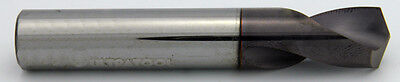 "3/8"" 140° Degree Carbide ALTiN NC Spot Drill 2.5"" Long Ultra Tool USA #52526AT"