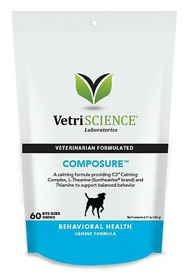 Composure Bite Sized Chews for Dogs (60 Chews)