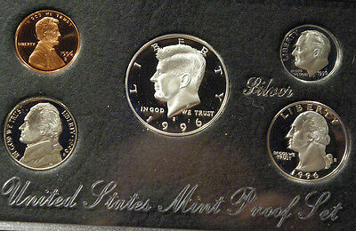 1996 United States Mint Premier Silver Proof Set S Original Mint Packaging