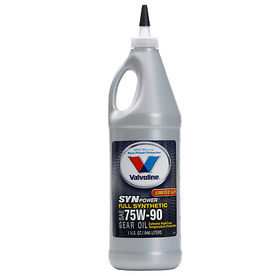 Valvoline 75W-140 SynPower Synthetic Gear Oil(QT) VV982