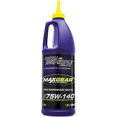 Royal Purple Max Gear 75W140 Quart 6301
