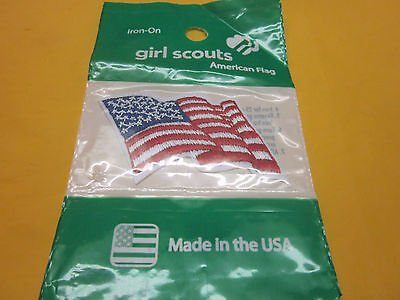 Girl Scouts Flag Patch ( New ) Look