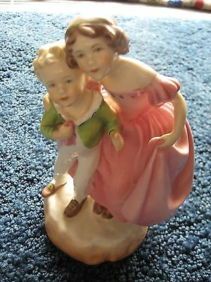 """Royal Worcester-F.G. Doughty-Sister-Figurine-3149-England-Porcelain-7 1/8"""" tall"""