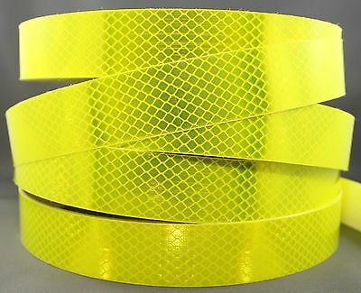 3M Fluoro Yellow Green (4083) Diamond Grade Class 1 Reflective Tape 30mm x 15m