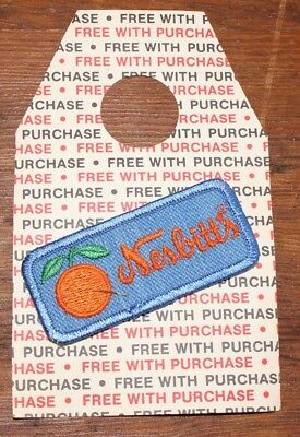 Nesbitt's Promo Free With Purchase Cloth Stitched Patch New Unused Vintage