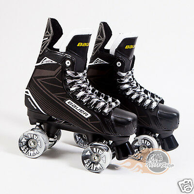 Bauer Quad Roller Skate - Supreme S140 Playmaker Conversion  Airwave Wheels