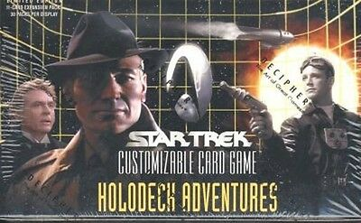 STAR TREK CCG HOLODECK RARE CARD YOUR GALAXY IS IMPURE