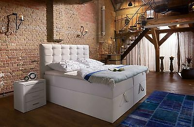 Boxspringbett Milano Box Plus mit Bettkasten-90x200,140x200,160x200,200x200