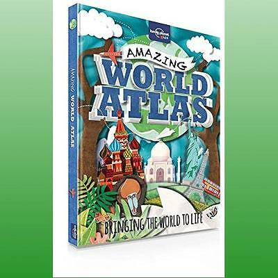 Lonely Planet Kids Amazing World Atlas Lonely Planet 9781743603895