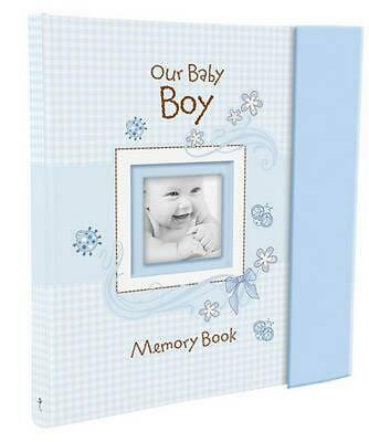 Our Baby Boy Memory Book by Christian Art Gifts (English) Hardcover Book Free Sh