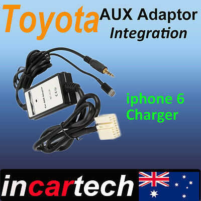 Toyota AUX/iPhone 6 6s/iPod Factory Radio Adaptor for Camry/Aurion/Corolla/Rav 4