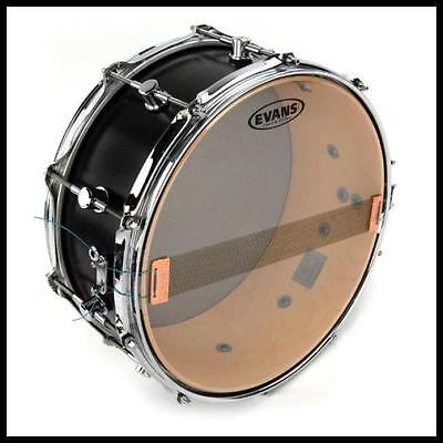 Evans Clear 300 Snare Side Drum Head, 13 Inch Evans heads Hazy 300
