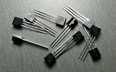 2N7000 TO-92 N-Channel TMOSFET Pack of 10