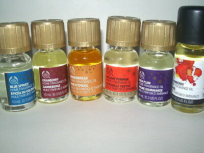 Home Fragrance Oil The Body Shop U PICK Scent(s) most very rare
