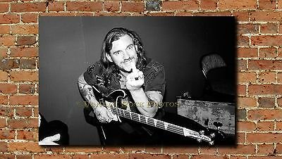 Lemmy Kilmister Motorhead Poster 20x30 inch Photo '80s Backstage Canon Print 10