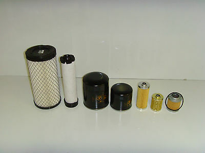 Hitachi Ex255 Filter Service Set mit Cummins 6ct 8.3 Motor