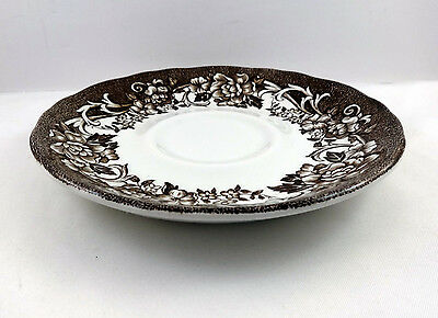 Saucer for Coffee Tea Cup Stratford Stage Royal Staffordshire Ironstone Meakin