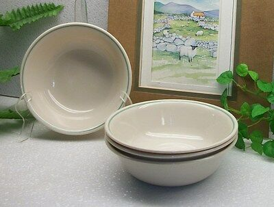 RARE  Lot of 4  Corelle Corning Ware CALICO ROSE Cereal Soup Salad Bowls