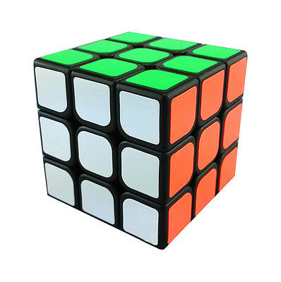 New Original 3x3x3 Puzzle Cube By Winning Moves Black Background Game Gift