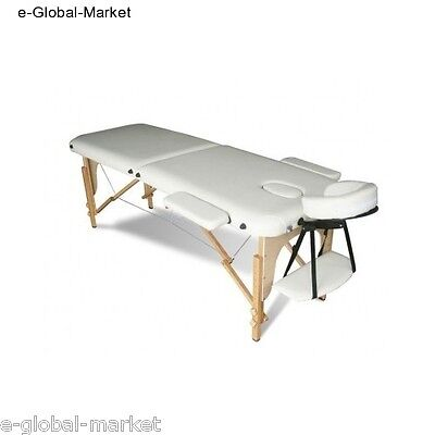 Massage Portable Table Beauty Bed Couch Therapy Folding Spa Salon Carry Bag