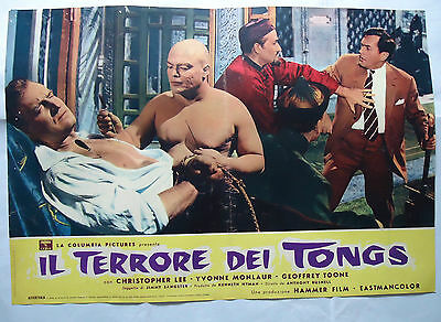 HAMMER/ TERROR OF THE TONGS/ italy poster