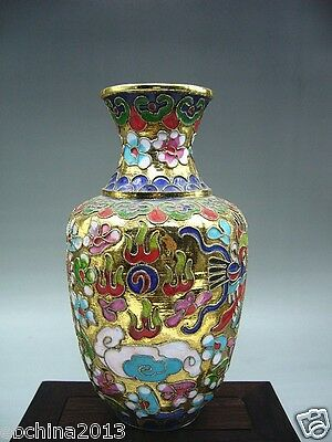 Chinese culture collections, The rare Chinese cloisonne vase