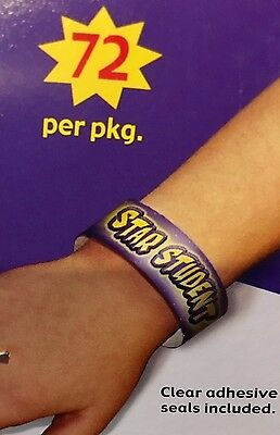 """""""Arm Charms"""" Smiles & Stars/Positive Message Incentive for Students 2 Lots of 72"""