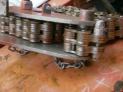 """Mathey Dearman Screw Chain  Pipe Clamp D2235  Suits 10""""-36"""" Pipe Save $$$$"""