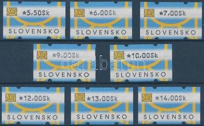 Slovakia stamp Automatic stamps MNH Imperforated 2001 Mi 1 WS154452
