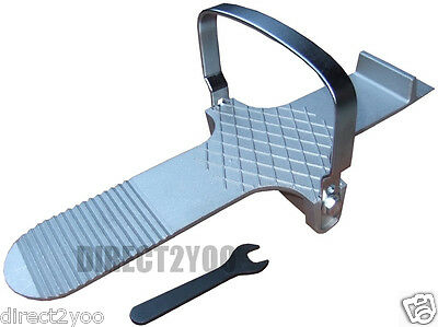 Door Lifter Adjustable Foot Drywall Plasterboard Board Sheet Wedge 30cm 12in