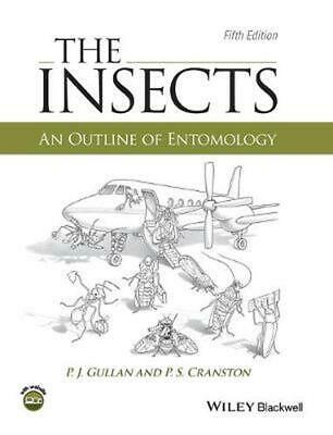 The Insects - an Outline of Entomology by Gullan Hardcover Book (English)