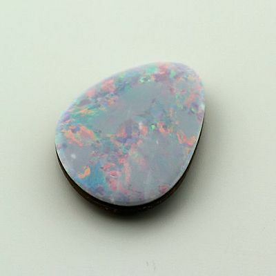 Australian Opal Doublet 11.9x9mm Freeform 1.82ct (One of a Kind Stone)