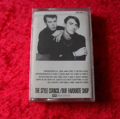 MC The style council - Our Favourite Shop NEU! - Musikkassette Cassette