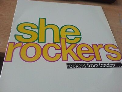 "She Rockers ‎– Rockers From London   (ORIGINAL 12"" VINYL LP)"