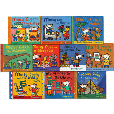Lucy Cousins Children's Collection Maisy Mouse Loves 10 Books Collection Set