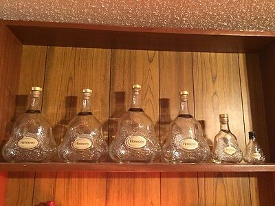 Hennessey XO Bottle Collection