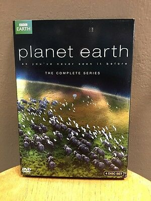 Planet Earth - The Complete Collection (DVD, 2012, 4-Disc Set)