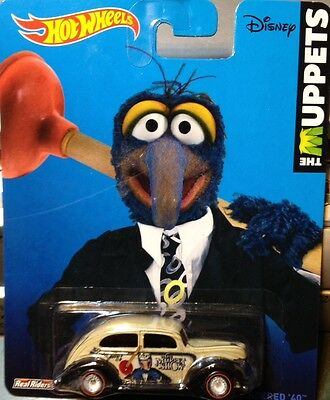 Hot Wheels 2014 Pop Culture THE Muppets II GONZO FAT FENDERED '40 BDR65