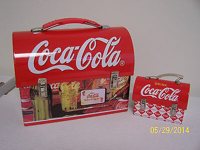 Coca-Cola Lunchbox Tins (Set of 2)