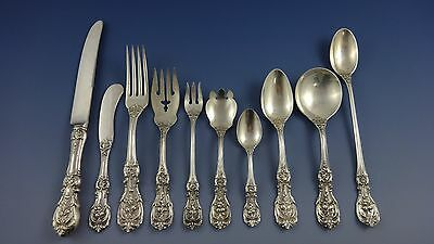 Francis I by Reed & Barton Sterling Silver Flatware Set 8 Service Old 87 Pieces