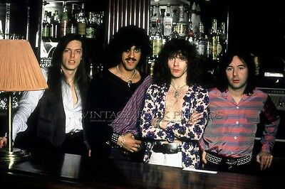 Thin Lizzy Photo 8x12 or 8x10 inch '70s Candid Backstage Exclusive Fuji Print 28