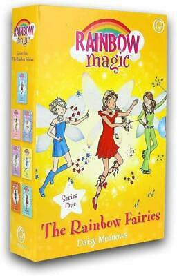 Rainbow Magic Colour Fairies Collection Daisy Meadows 7 Books Set Series 1 to 7,