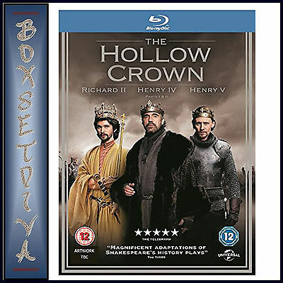 The Hollow Crown- Complete Series 1  ***brand New Blu-Ray **