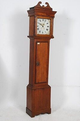 Antique 19th Century George III Longcase Grandfather Clock by Alexander Jacobs D