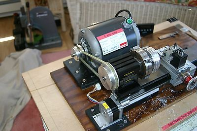 taig lathe Professional Pulley System.