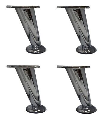 Phenomenal 5 Slanted Metal Chrome Modern Furniture Sofa Table Chair Squirreltailoven Fun Painted Chair Ideas Images Squirreltailovenorg