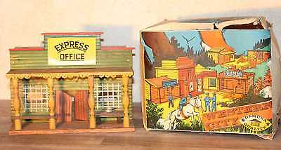 DEMUSA DDR Express Office Western City Wildwest Timpo Elastolin Britains OVP